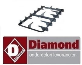 20430500020 - BRANDER ROOSTER - LINKS OF RECHTS VOOR DIAMOND C5FV6-N