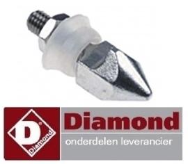 067C756400 - Tegenstuk met pin 1-stand deur hetelucht oven DIAMOND DFV-1011