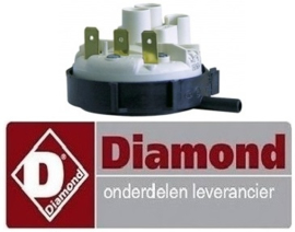 318224010 - Pressostaat drukbereik 110/70mbar voor voorlader vaatwasser DIAMOND D86
