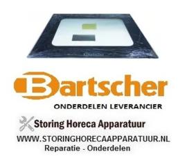 186012078902 - Glas buiten ruit oven deur BARTSCHER AT110
