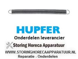 4547.005.17 - Trekveer ø 11,8 mm totale lengte 145 mm HUPFER