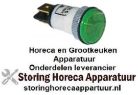 432359049 - Signaallamp ø 13mm - 400V groen