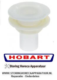"""246524831 - Wasarmlager inbouwpositie boven/onder ø 22mm H 53mm voor moer draad 3/4"""" HOBART"""