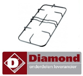 025683.063.00 - Branderrooster B 265mm L 510mm G60 - DIAMOND