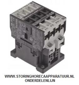 ST1381184 - Relais - Magneetschakelaar  AC1 25A 180-210VAC (AC3/400V) 10A/4kW hoofdcontact 3NO hulpcontact 1NC