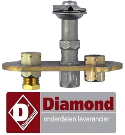VE201100056 - Waakvlambrander 3-vlammig voor gas friteuse  DIAMOND F15-15G/M