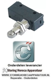 212345639 - Microschakelaar met rolontstopper CUPPONE PIZZAFORM P/33 EN DE P/45