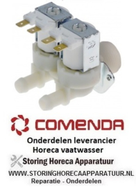 313120146 - Magneetventiel dubbel recht 230VAC vaatwasser COMENDA BC2E