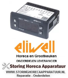 103379888 - Elektronische regelaar ELIWELL type IC912 model IC11J00THD701 inbouwmaat 71x29mm 230V
