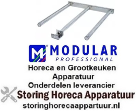 385105162 - Staafbrander 3 rijen L 585mm B 455mm H 40mm aubain-marie MODULAR