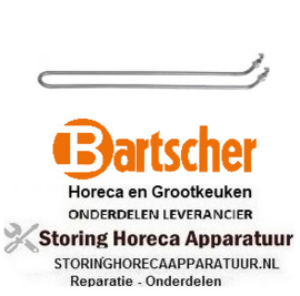 882416693 - Verwarmingselement 1650W 230V braadpan BARTSCHER