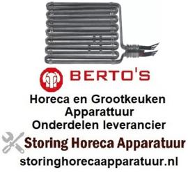 VERWARMINGSELEMENT  BERTOS HORECA EN GROOTKEUKEN APPARATUUR REPARATIE ONDERDELEN