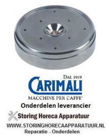 4382201225NP - Waterverdeler 8 gaten RVS CARIMALI