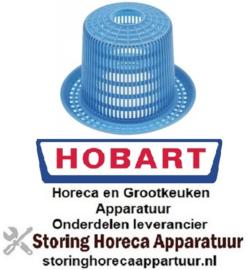 323510647 - Aanzuigfilter ø 163mm H 112mm gat ø 33mm voor vaatwasser HOBART