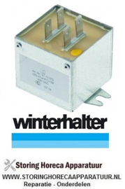 229365163 - Ontstoringsfilter 440V geleider 2 aansluiting vlaksteker 6,3mm L 43mm H 40mm B 44mm  Winterhalter