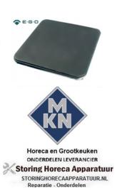 560490128 - Kookplaat maat 300x300mm 2500W 400V voor MKN