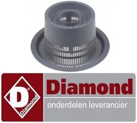 524121120 - Filter voor afvoer kap vaatwasser DIAMOND