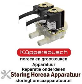 118370065 - Magneetventiel dubbel recht 230VAC voor apparatuur KUPPERBUSCH