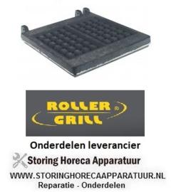 7826.933.51 - Gietijzerplaat voor wafelijzer voor model GES20 inbouwpositie onder ROLLER GRILL