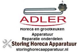 274415187 -  Verwarmingselement 2800 Watt - 230 Volt  voor vaatwasser ADLER