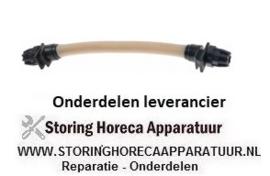 131361977 - Pompslang  wasmiddel ID ø 6,4mm OD ø 9,6mm slang ø 4x6mm slangtype Santoprene