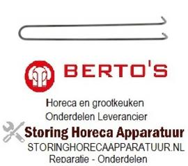 572418063 - Verwarmingselement 1900W 240V voor Bertos grillpaat