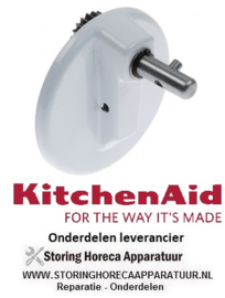 804699454 - Tandwielhuis flens ø 105 mm aandrijfschacht ø 13 mm KITCHENAID
