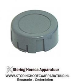 012110085 - Drukknop ø 36mm grijs voor knop van timer