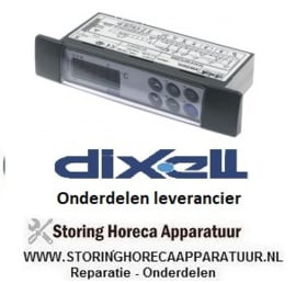 237378386 - Elektronische regelaar DIXELL XW264L-5N0C5 inbouwmaat 150x30mm inbouwdiepte 65,5mm 230V