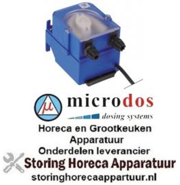 673361618 - Doseerapparaat MICRODOS frequentieregeling 3l/h 230 VAC wasmiddel slang ø 4x6mm slang Santoprene