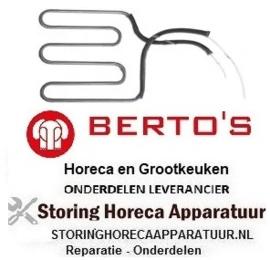 474416012 - Verwarmingselement 700 Watt - 230 Volt voor Grill BERTOS