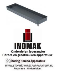 106750711 - Lekbak voor verdamper L 415mm B 110mm H 40mm INOMAK