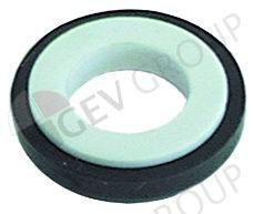 510723 -  Tegenring H 8mm OD ø 26mm ID ø 13,5mm voor glijringpakking