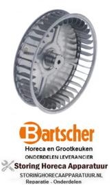 261601688 - Ventilatorblad D1 ø 200mm H1 43mm BARTSCHER