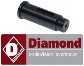 366697315 - Aandrijfas voor deeghaken ø 30mm DIAMOND