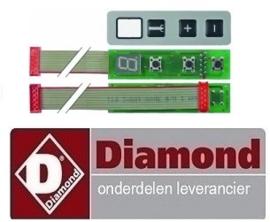 512F2663 - Bedieningsprint voor staafmixer DIAMOND MAV-450