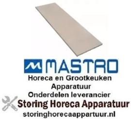 339850103 - Warmtegevende steen L 1050mm B 350mm H 19mm pizza oven MASTRO