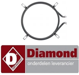 458D02009 - Verwarmingselement 1500W 230V DIAMOND VGH3/H