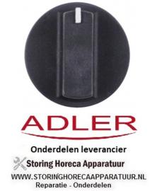 15610551 - Knop schakelaar nulstreep  zwart ADLER PM50