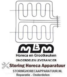 324416542 - Verwarmingselement voor oven 3950 Watt MBM