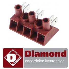 458A16013 - Elektra aansluitingsklem 3-polig wafelijzer DIAMOND GB-3X5