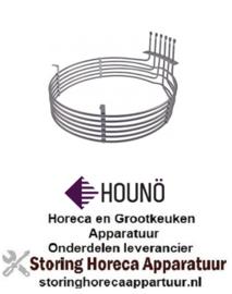 826420419 - Verwarmingselement 9000W 240V voor Houno