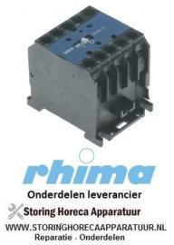 02450910008 - Relais 230V vaatwasser RHIMA 50 - Jaar 2012