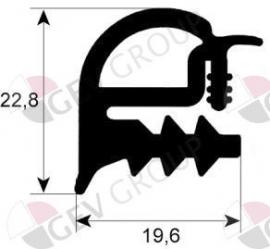 900085 - Deurrubber oven 520 x 470 mm