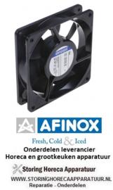 63474847154 - Axiaalventilator L 119mm B 119mm H 25mm 230VAC 50Hz 14W lager kogellager AFINOX