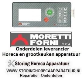 28674311230 - Membraanfolie pizza oven MORRETI T75E