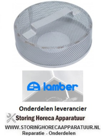 0090200024 - Rondfilter aanzuig waspomp LAMBER L20