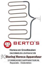 434416013 - Verwarmingselement 1000 Watt - 230 Volt voor Grill BERTOS