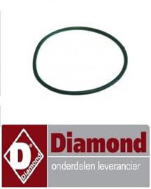 264456040 - Pakking rubber voor afvoer DIAMOND D701-EKS