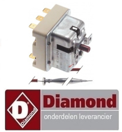 858006282 - Maximaalthermostaat uitschakeltemp. 245°C DIAMOND E22/F46-A8
